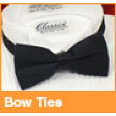 Black Satin Bow Tie also many other colors to choose from,,,