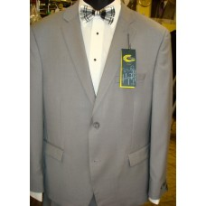 Slim-Fit Light Grey Suit